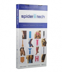 SPIDERTECH PRE-CUT FULL KNEE CLINIC PACK [10 PCS] (GENTLE)
