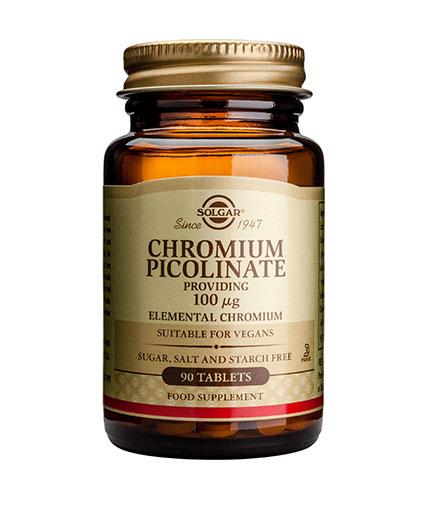 solgar Chromium Picolinate 100g / 90 Tabs