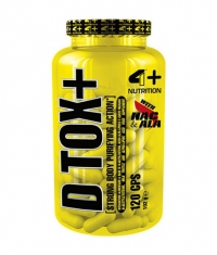 4+ NUTRITION D TOX+ / 120 Caps.