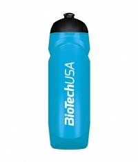 BIOTECH USA Waterbottle Transparent 750ml. / Blue