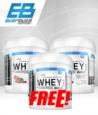 PROMO STACK Everbuild Whey Build Stack. / 2+1 FREE!