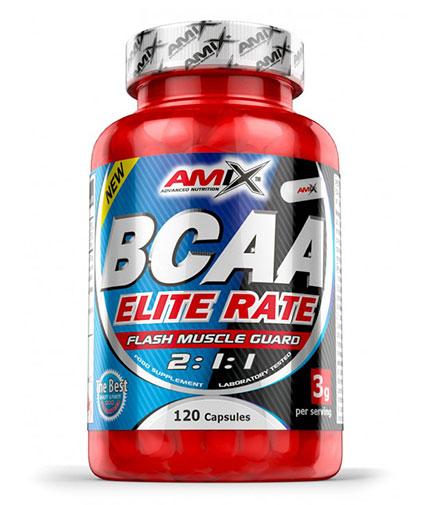 AMIX BCAA Elite Rate 120 Caps.
