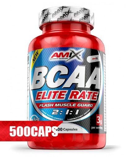 amix BCAA Elite Rate 500 Caps.