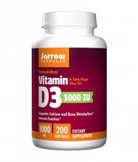 Jarrow Formulas Vitamin D3 1000IU / 200 Soft.