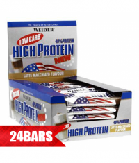 WEIDER Low Carb High Protein Bar 25 x 50g.