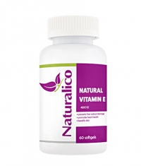 NATURALICO Vitamin E 400 IU / 60 Soft.
