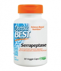DOCTOR'S BEST Serrapeptase / 90 Vcaps.