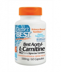 DOCTOR\'S BEST Acetyl L-Carnitine 588mg / 60 Caps.