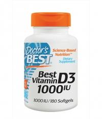DOCTOR'S BEST Vitamin D3 1000IU / 180 Soft.
