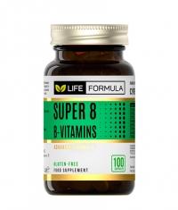 LIFE FORMULA Super 8 B-Vitamins / 100 Caps.