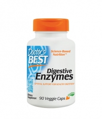 DOCTOR'S BEST Digestive Enzymes / 90 Vcaps.