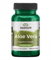 SWANSON Aloe Vera 25mg. / 100 Softgels