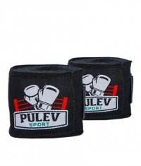 PULEV SPORT Hand Wraps / Black