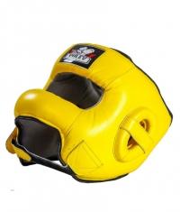 PULEV SPORT Headguard Face Bar / Yellow