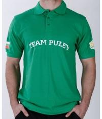 PULEV SPORT Team Pulev T-Shirt / Green