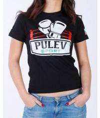 PULEV SPORT Women T-Shirt / Black