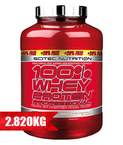 scitec Whey Protein Proffesional / 2350g. + 20% FREE