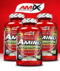 PROMO STACK Amix Amino Hydro-32 / 250 Tabs. / x3
