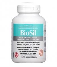 BioSil Hair, Skin, Nails 118mg. / 120 Vcaps.