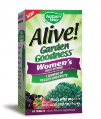 NATURES WAY Alive Garden Goodness Women's Multi-Vitamin / 60 Tabs.