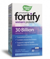 NATURES WAY Primadophilus Fortify Women's Probiotic / 30 Vcaps.