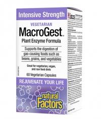 NATURAL FACTORS Vegetarian MacroGest / 120 Vcaps.