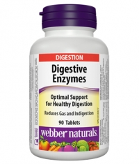WEBBER NATURALS Digestive Enzymes / 90Tabs.