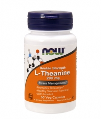 NOW L-Theanine 200mg / 60Vcaps