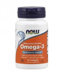 NOW Omega-3 1000mg / 30Softgels