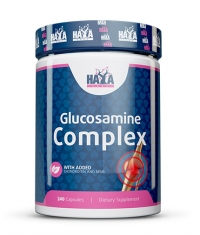 HAYA LABS Glucosamine Chondroitin & MSM Complex 240 Caps.