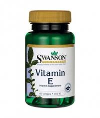 SWANSON Vitamin E 400 IU / 60 Soft