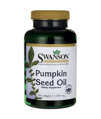 SWANSON Pumpkin Seed Oil 1000mg. / 100 Soft