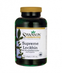 SWANSON Supreme Lecithin with Phosphatidylcholine 400mg. / 300 Soft