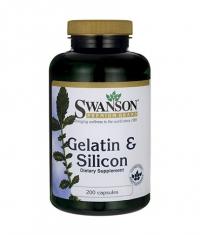 SWANSON Gelatin & Silicon / 200 Caps