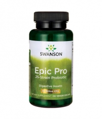 SWANSON Epic Pro 25-Strain Probiotic 30 Billion CFU / 30 Vcaps