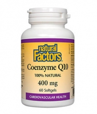 NATURAL FACTORS Coenzyme Q10 400mg / 60 Softg