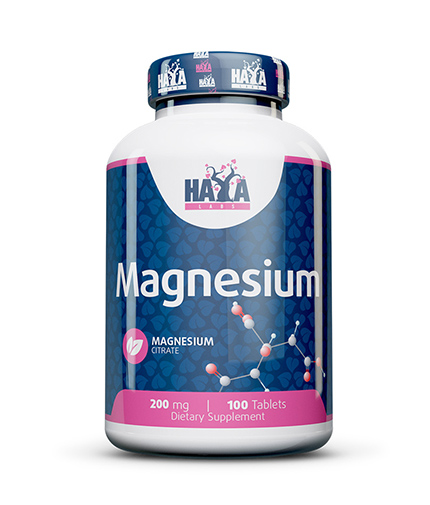 haya-labs Magnesium Citrate 200mg / 100 Tabs.