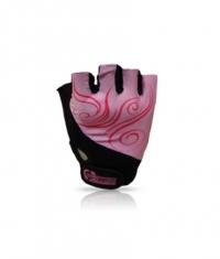 SCITEC Girl Power Gloves Pink