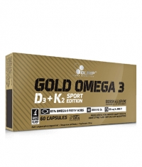 OLIMP Gold Omega 3 D3 + K2 Sport Edition / 60 Caps