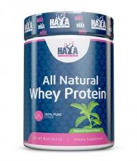 HAYA LABS 100% Pure All Natural Whey Protein / Stevia