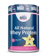 HAYA LABS 100% Pure All Natural Whey Protein / Vanilla