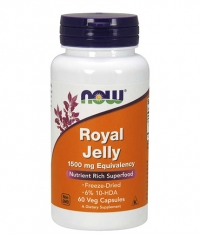 NOW Royal Jelly 1500mg / 60 Caps