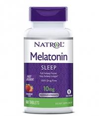 NATROL Melatonin 10mg - Fast Dissolve / 60 Tabs