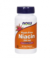NOW Flush-Free Niacin 250mg. / 90 VCaps.