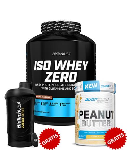 promo-stack 100% ISO Whey + 2 CADOURI