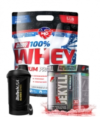 PROMO STACK MLO WHEY + PRE WORKOUT + SHAKER