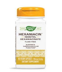 NATURES WAY HexaNiacin Inositol Hexaniacinate / 60 Vcaps