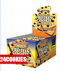QUAMTRAX NUTRITION Protein Cookies / 24x70g