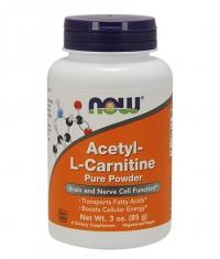 NOW Acetyl L-Carnitine Powder 85g.