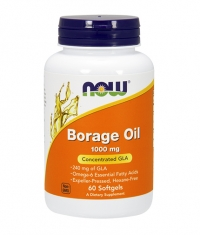 NOW Borage Oil 1000 mg. / 60 Softgels